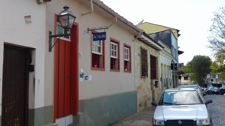 AZ Hostel, na antiga Rua da Zona