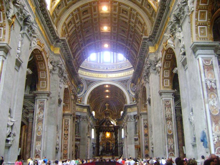 como-visitar-o-vaticano-basilica-interna