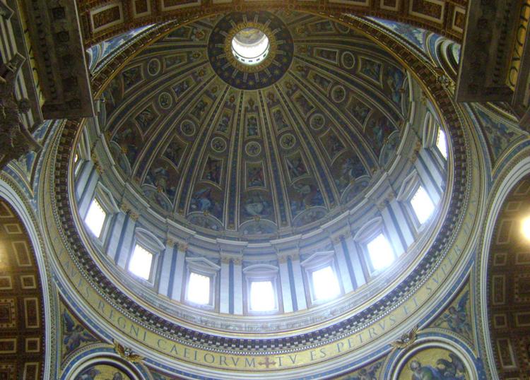 como-visitar-o-vaticano-teto